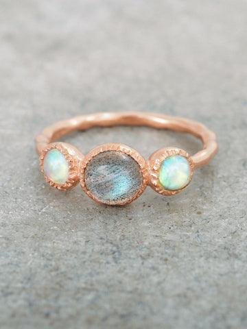 Mystical Trio Ring