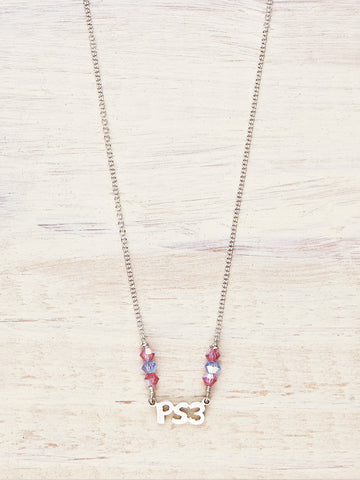 PS3 - Crystal Colors Necklace - LUNESSA