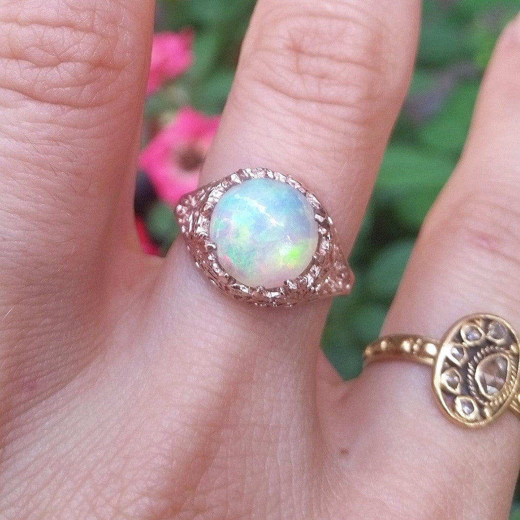 Persephone Opal Ring