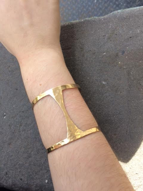 Margot Brass Cuff