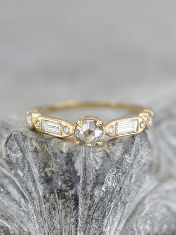 Illumination Salt + Pepper Diamond Ring