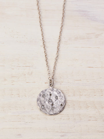 Starry Night Cosmic Diamond Necklace