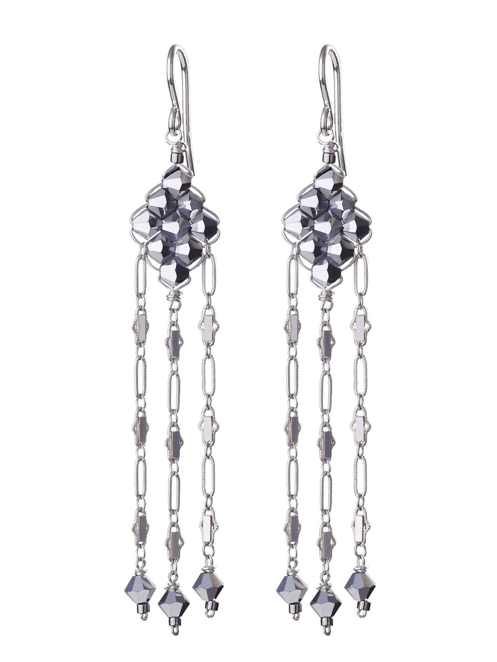 The Garbo Chandelier - Silver