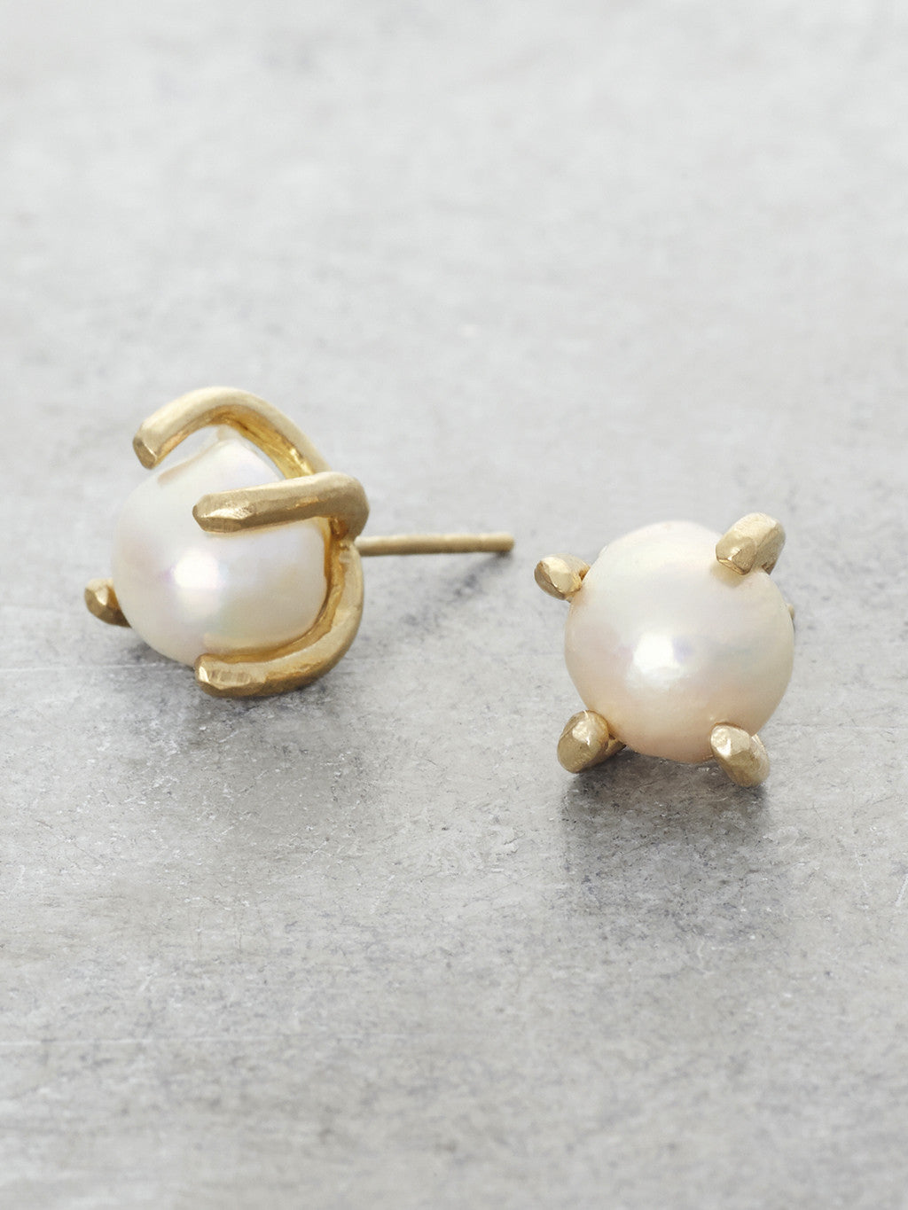 Akoya Pearl Post Earrings