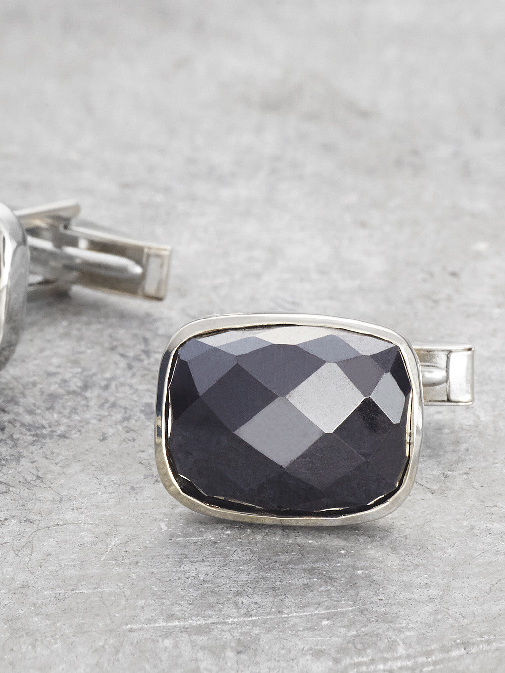 Black Onyx Cufflinks detail 2