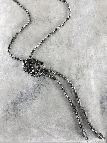 Crystal Flapper Lariat