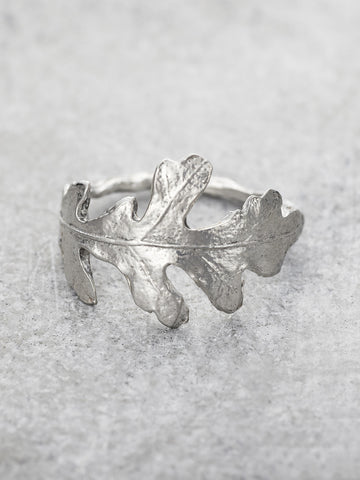 Mighty Oak Leaf Ring