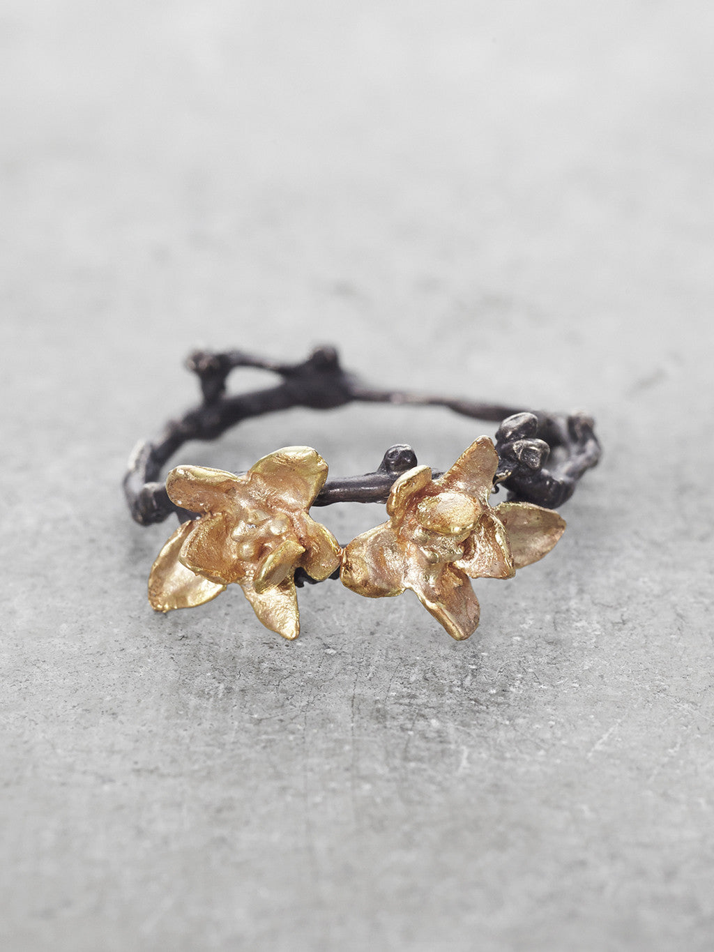 Jasmine Double Blossom Ring