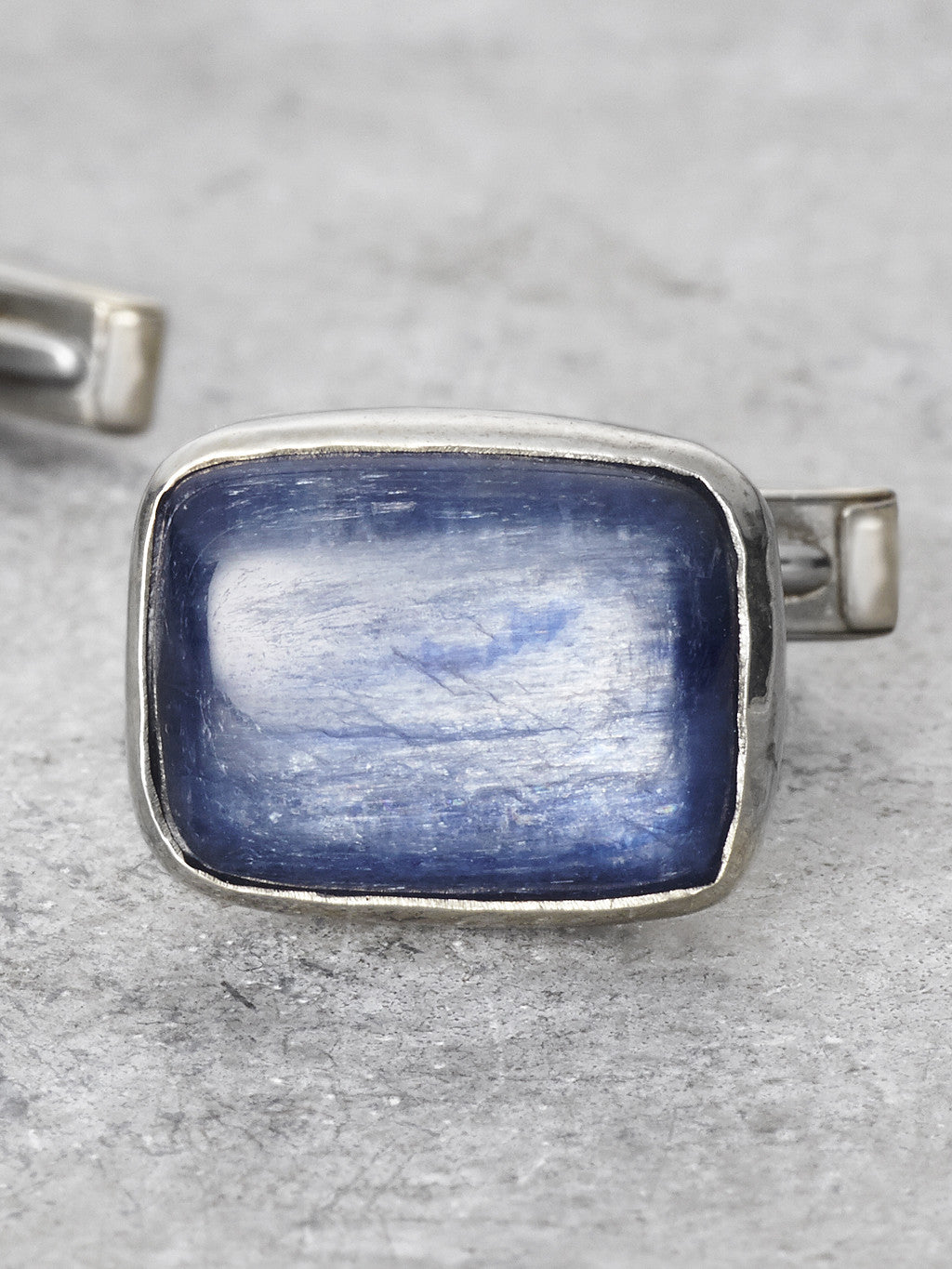 Kyanite Cufflink detail