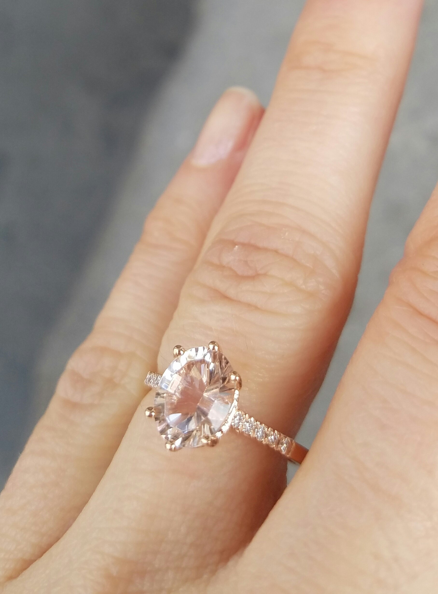 Morganite Marietta Ring