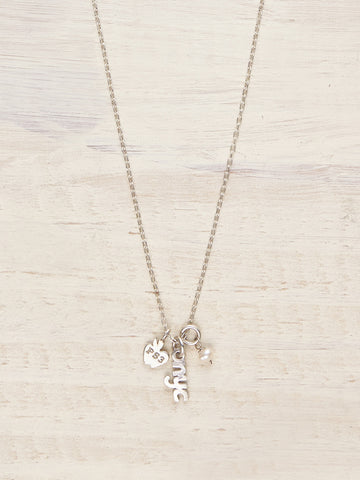 PS3 School Charms Necklace - LUNESSA