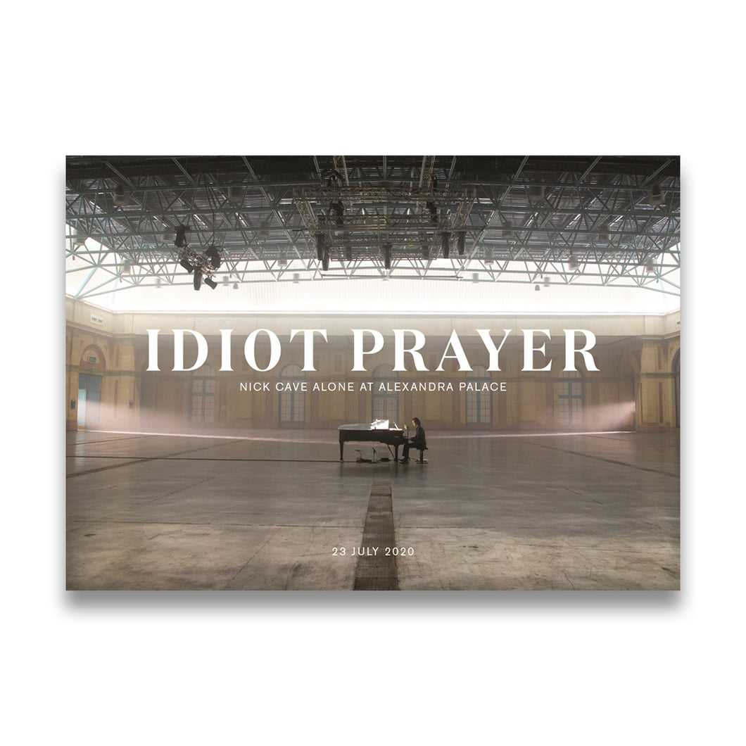 Idiot Prayer A2 Print