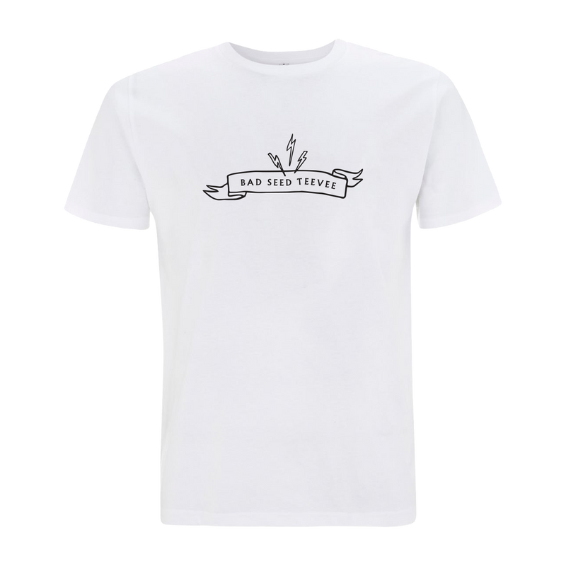 Bad Seed TeeVee White T-Shirt