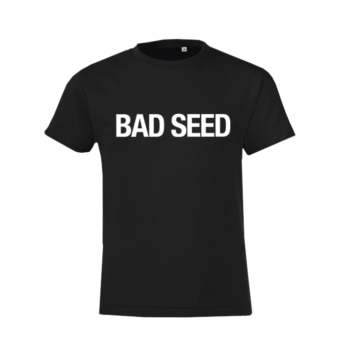 BAD SEED KIDS BLACK T-SHIRT