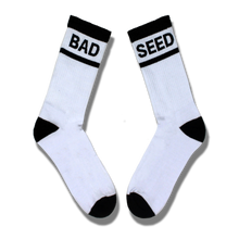 Load image into Gallery viewer, BAD SEED WHITE & BLACK TUBE SOCKS SET