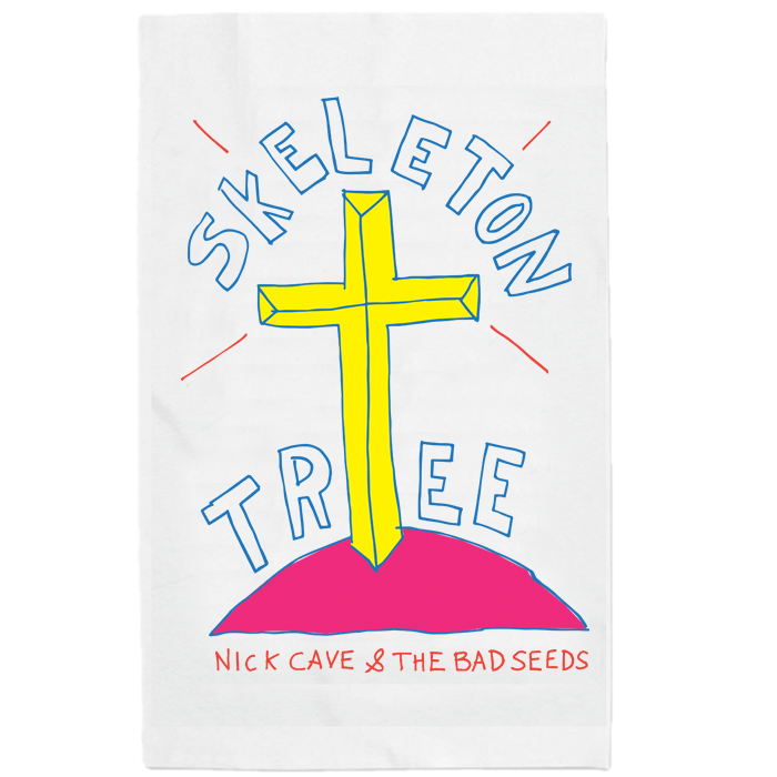 SKELETON TREE TEA TOWEL