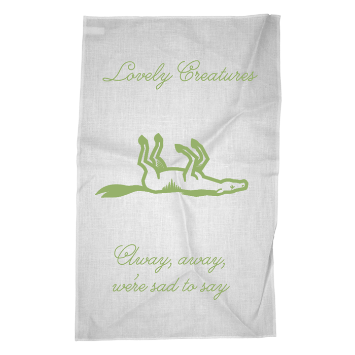 THE CARNY TEA TOWEL