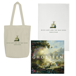 Album, Lamb tea towel & Lamb tote bag