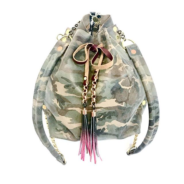 Camo Convertible Backpack