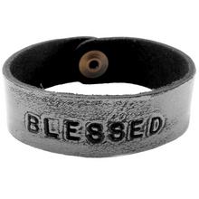 BLESSED Monogram Bracelet -Grey