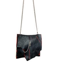 Black & Red Petite Jessica Bag