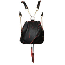 Black & Red Collection Convertible Backpack
