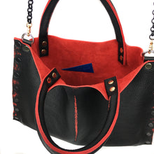 "Black & Red Collection ""Michelle"" Bag - LAST IN STOCK"