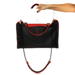 "Black & Red Collection ""Michelle"" Bag"
