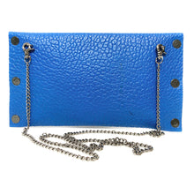 Electric Blue Dagger Clutch