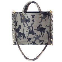 "Camo Grey ""Michelle"" Crossbody Bag"