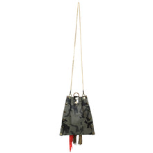 Camo Grey Mini Drawstring Crossbody Bag