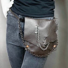 Chocolate Convertible Fanny Pack- one of a kind- SALE ITEM
