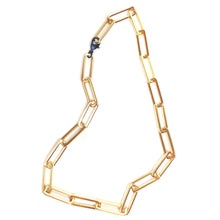 Chunky Gold Paperclip Necklace