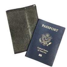 Dark Taupe leather Passport Cover (1 of a kind)