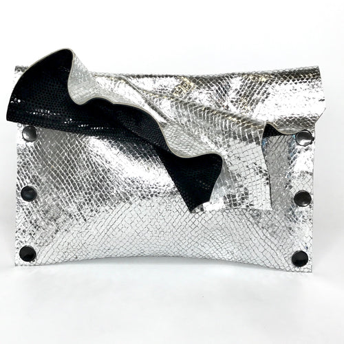 Chrome Metallic Clutch