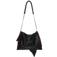 "Black & Red Collection Messenger ""Jessica"" Bag - LAST IN STOCK"