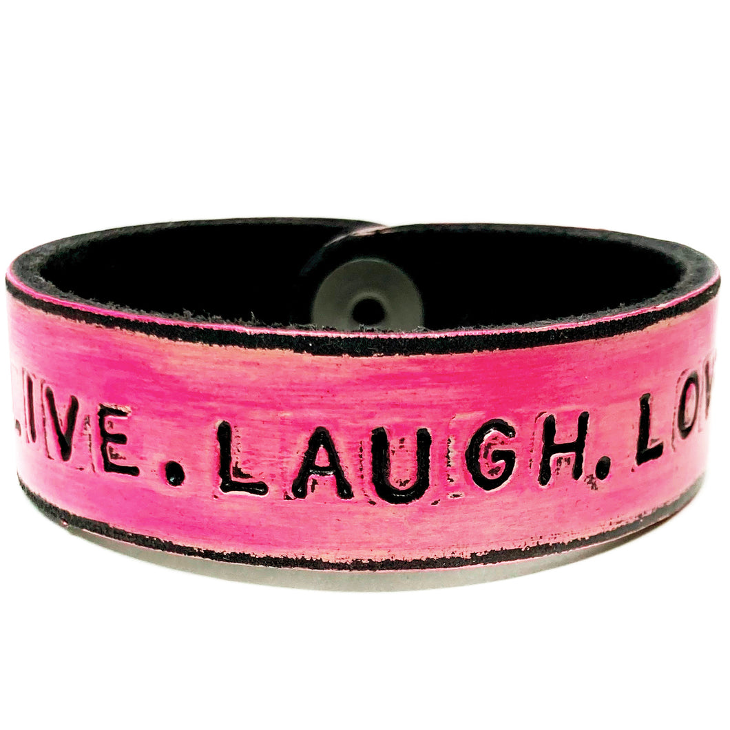 LIVE.LAUGH.LOVE Monogram Bracelet