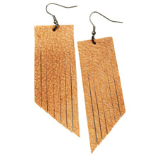 Nude Fringe Earrings