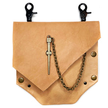 Nude Convertible Fanny Pack-Antique Brass