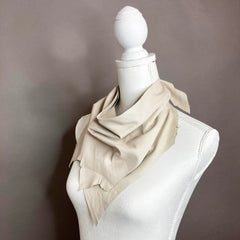 Off-White Leather Scarf