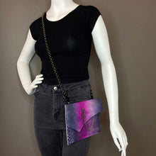 Pink & Purple Ombre Convertible Fanny Pack- one of a kind- SALE ITEM