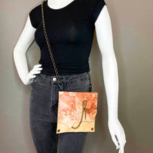 Rosey / Nude Convertible Fanny Pack- one of a kind- SALE ITEM