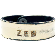 ZEN Monogram Bracelet - Off-White/Black