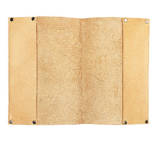 Nude Vegetan leather Passport Cover