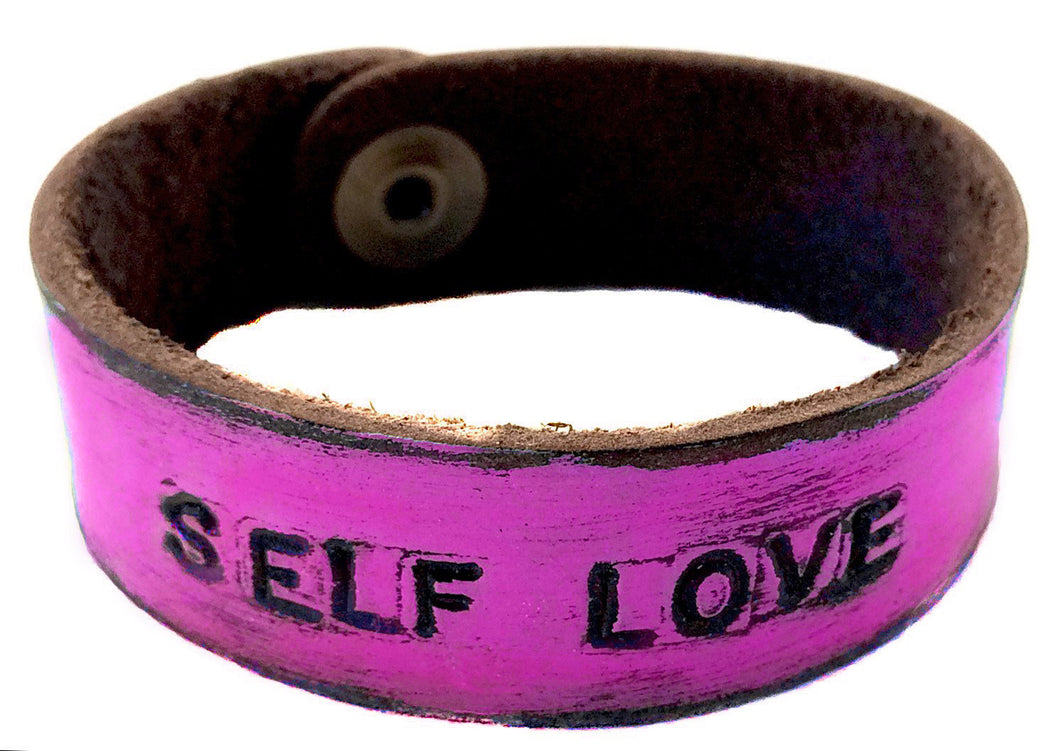 SELF LOVE Monogram Bracelet