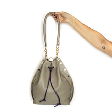 Taupe Bucket Bag Tote
