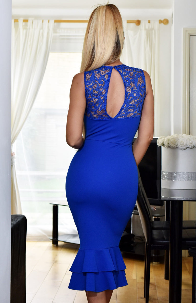 Blue Bodycon Dress - Buy Dresses Online