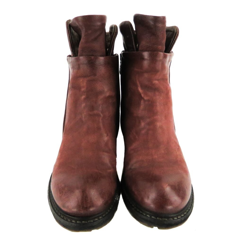 A.S. 98 Burdungy Leather Cadmus Ankle Boots - Bootie