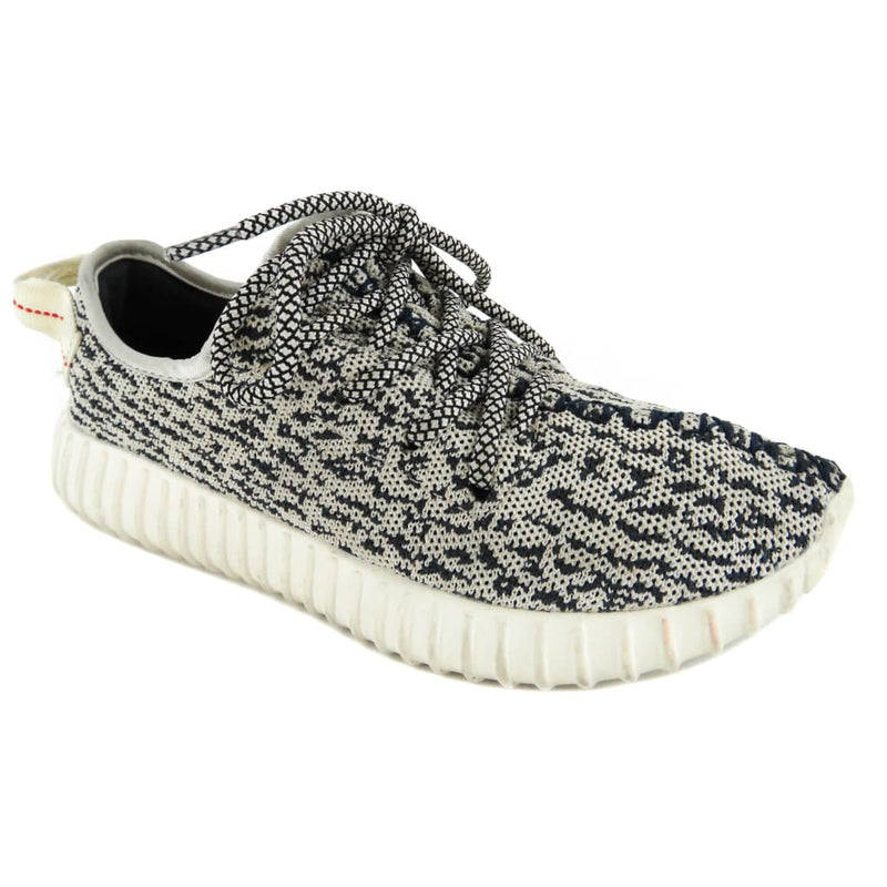 Adidas Yeezy Grey Turtledove Knit Yeezy Boost 350 Sneakers - Sneakers