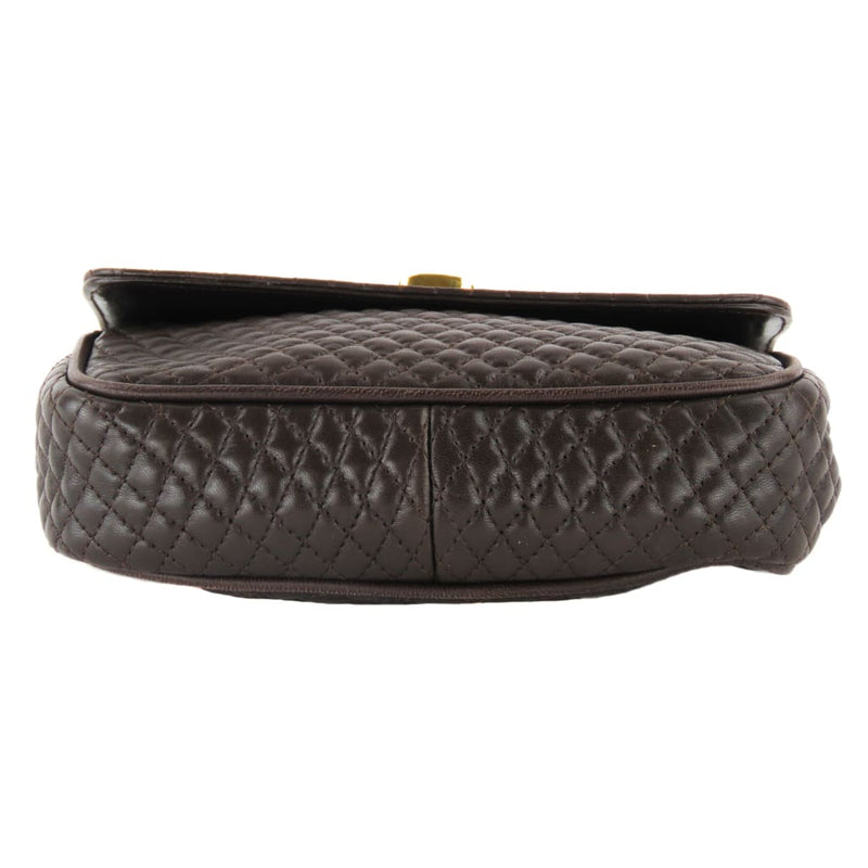 Bally Brown Quilted Leather Mini Shoulder Bags - Shoulder Bags